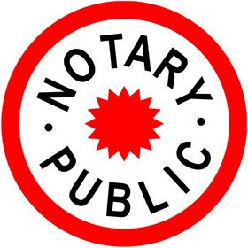 Notary Public Decal Notary Decal Acorn Sales