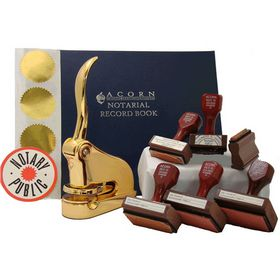 Supreme Gold Notary Embosser - Notary Seal Package | Acorn ...
