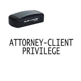 Attorney Client Privilege Marking