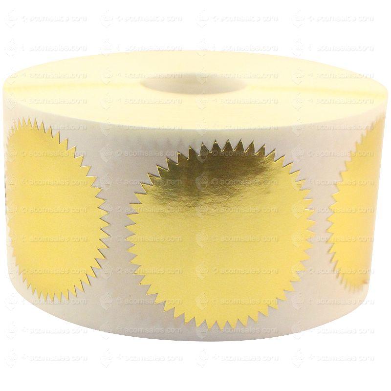 Gold Foil Seal Roll | Gold Foil Seals | Acorn Sales